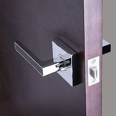 bai passage privacy modern door handle lever set ebay