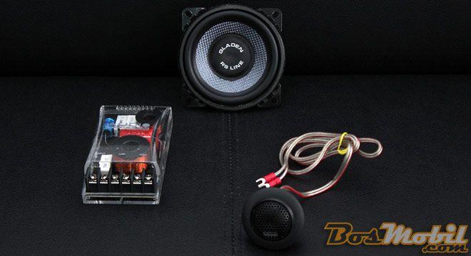 Speaker Gladen RS 100 : Midrange 4 Inci, Instalasi Mudah