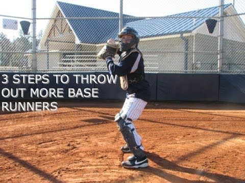 3 Quick Steps for Catchers to Throw out More Base Runners - YouTube