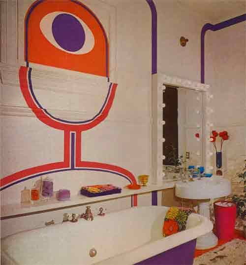 1971 Bathroom    I see what you re doing in there and I don. 97 best Vintage tacky images on Pinterest   1970s decor  Retro