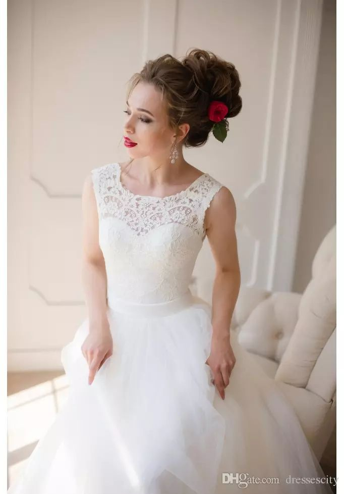 Wholesale vintage style wedding dresses, wedding dress online and wedding dress patterns on DHgate.com are fashion and cheap. The well-made simply a-line country wedding dress soft tulle fabric cheap wedding gown lace bridal dress backless plus size sold by dressescity is waiting for your attention.