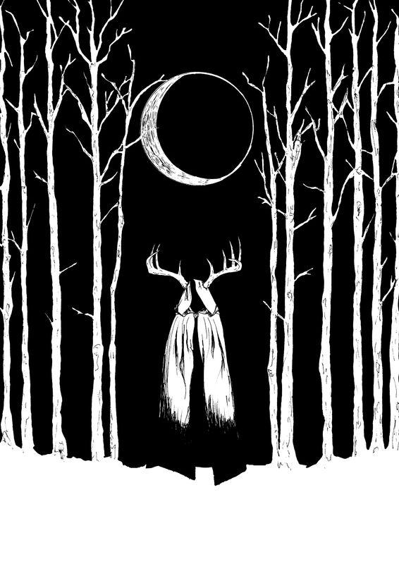 Loin      Illustration Edouard Correia     Haunted Visual Art