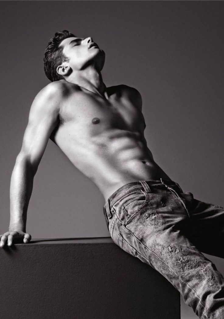 Sean OPry is a Denim Delight for Armani Jeans Fall/Winter 2012