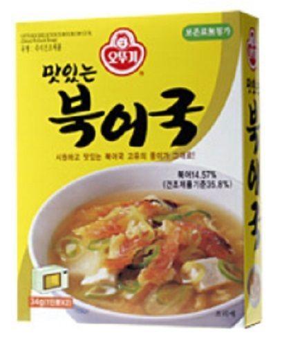 Ottogi Quick & Easy Instant Pollock Dried Korean Soup Dried Bugeoguk #Ottogi