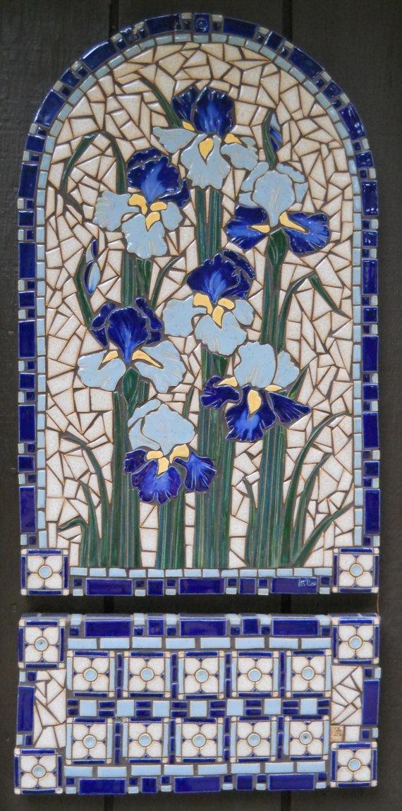 1000 Images About Mosaics Irises Amp Lilies On Pinterest