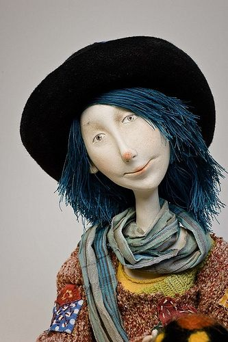 The Cloun by yana_yana, via Flickr - it's worth your while to click thru and see all of the images of her beautiful dolls