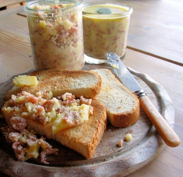 Potted Shrimps for a Traditional Yorkshire Shrimp Tea. Photo by French Tart