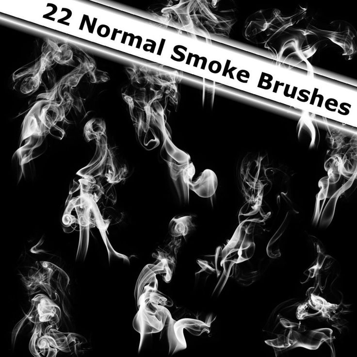 22 Normal Smoke Brushes by XResch