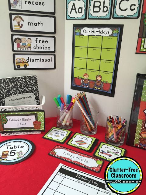 Free Classroom Decoration Templates ~ Images about apples classroom theme on pinterest