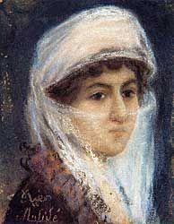 Self Portrait, Müfide Kadri (1890-1912)