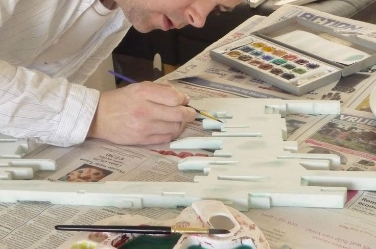 Everything is done by hand at funky mirrors..! Check out more photos and like our facebook page..! ? <3