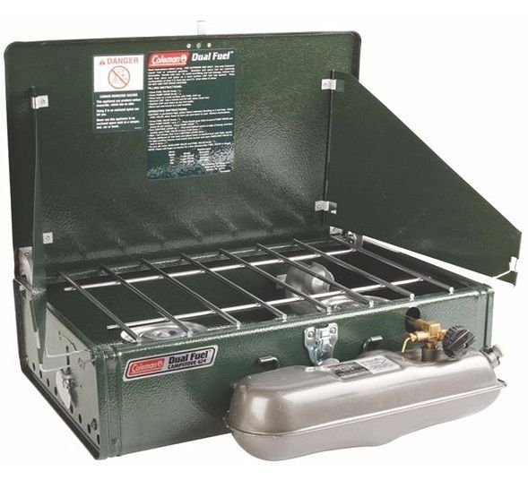 Coleman Camping Stoves 2 Burner Dual Fuel Portable 14000 BTU Compact Stove #Coleman #CampingStove