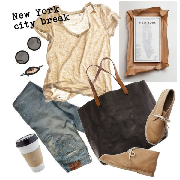 Weekend Explorer, created by #natasha11 on #polyvore. #fashion #style CALYPSO ST. BARTH American Eagle Outfitters