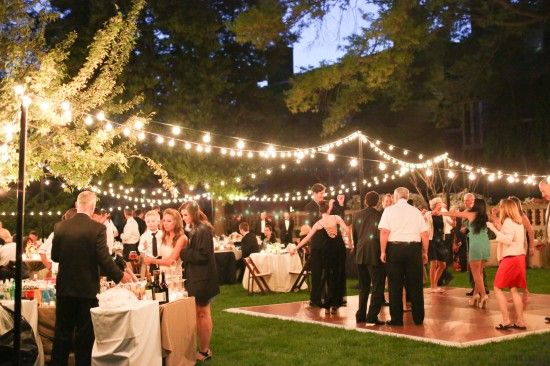 Elegant Outdoor Wedding Reception in Washington DC: Deirdre + Matt