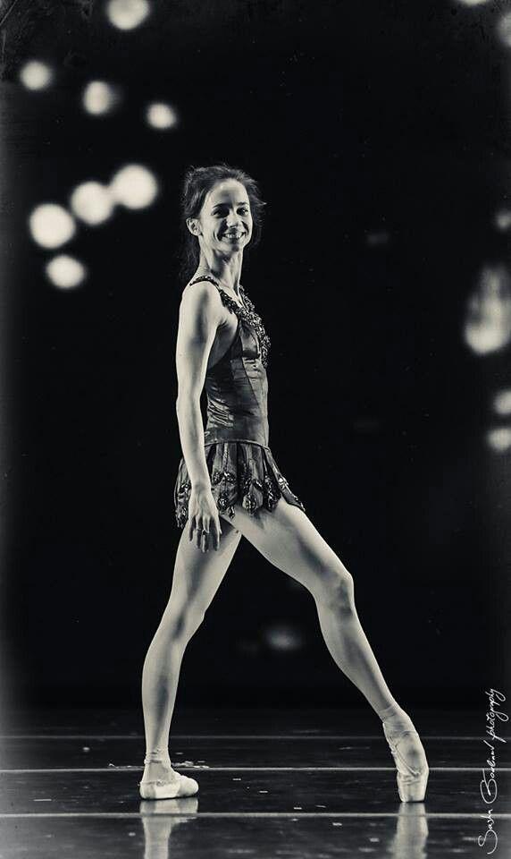 "Maria Kochetkova (San Francisco Ballet) in Georgie Balanchine´s ""Rubies"" from ""Jewels"" photographer Sasha Gouliaev / 2014 ♥ Wonderful! www.thewonderfulworldofdance.com #ballet #dance"