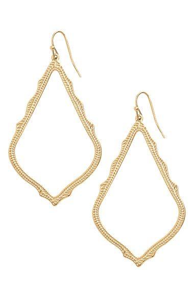 Kendra Scott 'Sophee' Textured Drop Earrings   Nordstrom