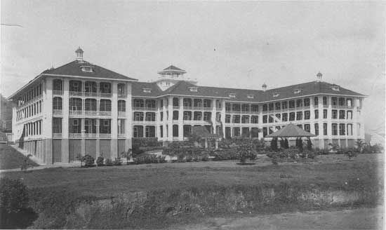 Tivoli Hotel, Panama. My grandfather used to go here to eat while he was stationed at the Canal during WWII. I had hoped to go there someday and order the Filet Mignon like he did. Sadly, I found out through researching it, that it was closed down in 1975.