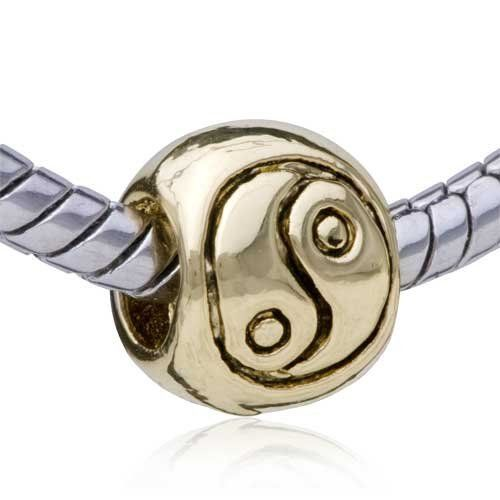 Pugster Yin Yang Symbol Bead Fits Pandora Bead Charm Bracelet Pugster. $19.99. Note: Snake chain is not included. Metal: Base metal,silver plated. Size (mm): 9.84x8.39x7.34mm. Weight (gram): 5.90. Plating: Gold Tone