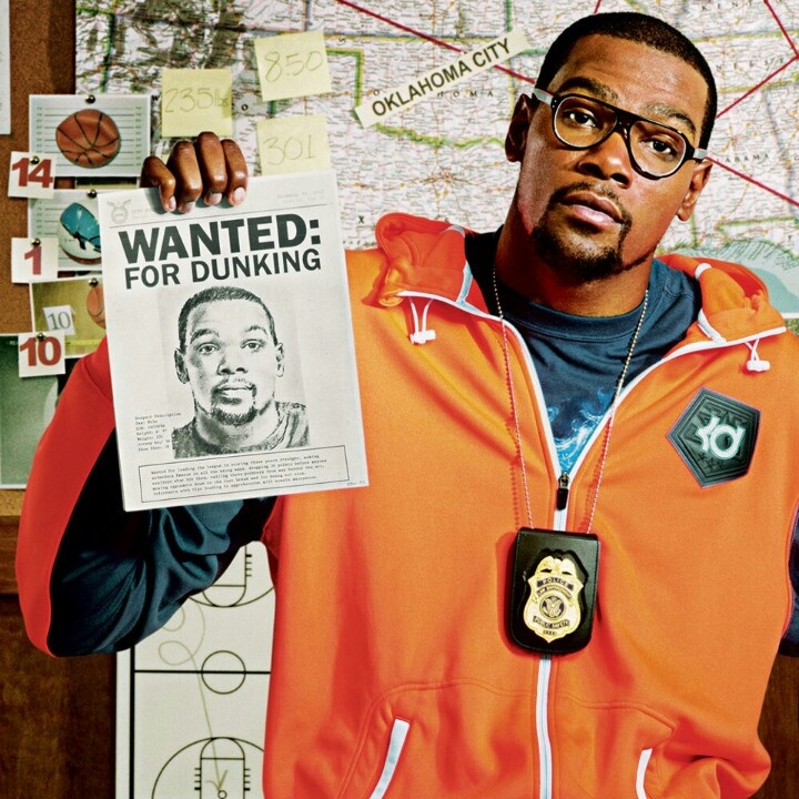 KD wanted for dunking