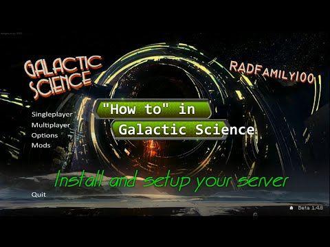Galactic Science Setup a LAN Server - http://dancedancenow.com/minecraft-lan-server/galactic-science-setup-a-lan-server/