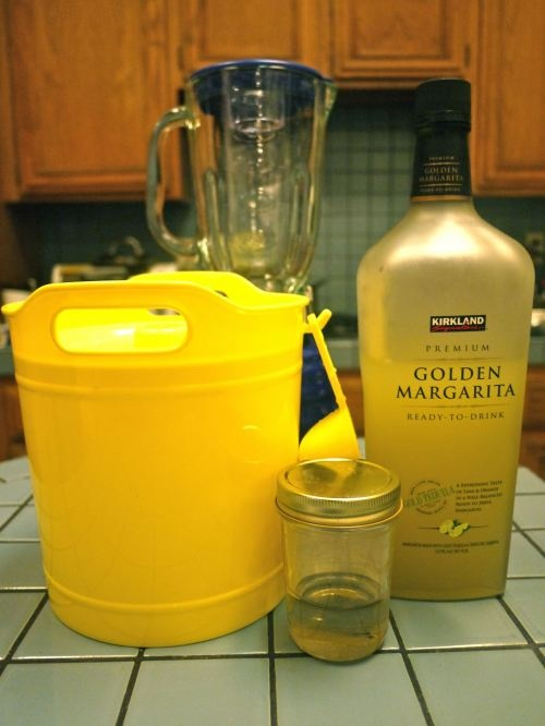 Just heard about this Costco, Kirkland Brand, Golden Margarita Mix - ready to drink- today at coffee with the girls. :D
