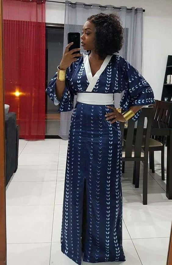 exemples de couture africaine chic de nos jours