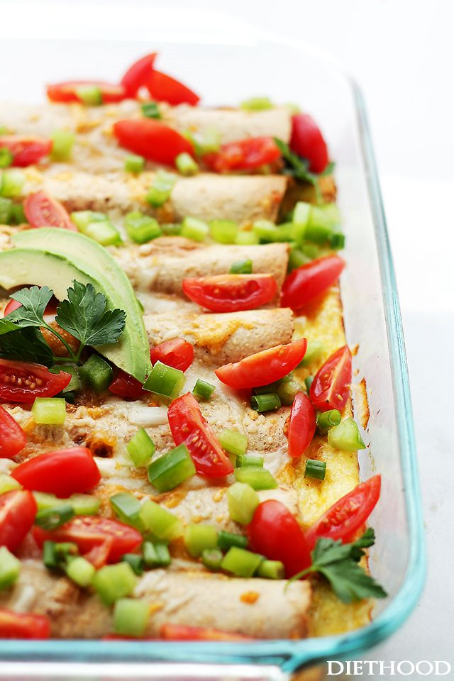 Overnight Breakfast Enchiladas | Recipe | Breakfast ...