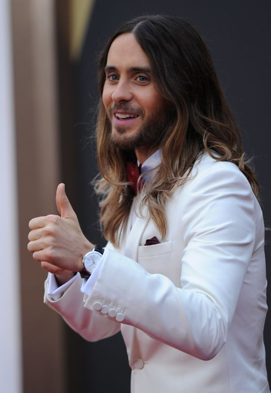 Best Supporting Actor Jared Leto.