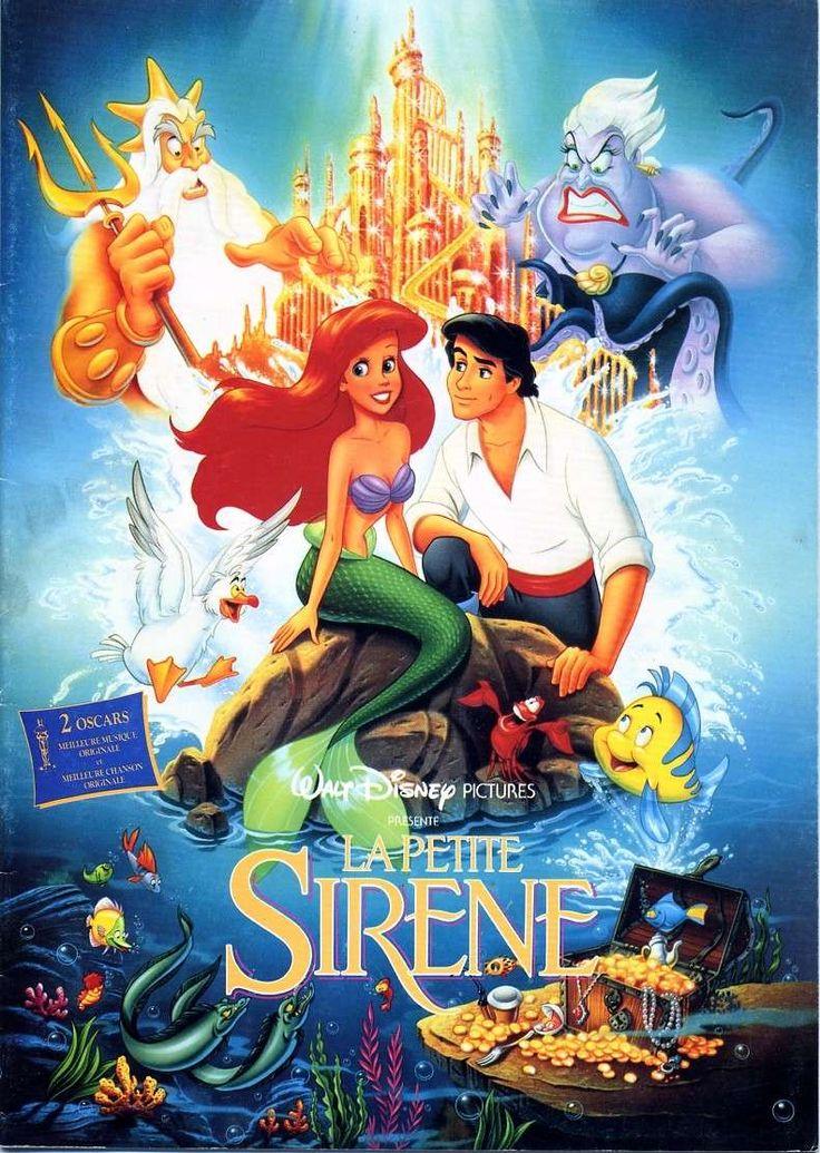 la petite sirène affiche | Walt Disney] La Petite Sirène (1989)