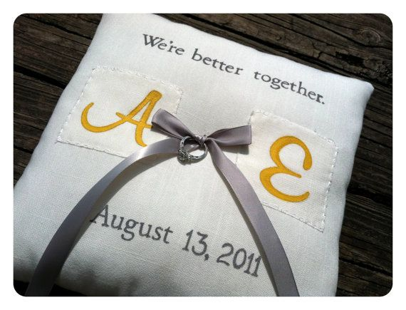 Completely custom and personalized double by ThreeYellowFinches, $46.00