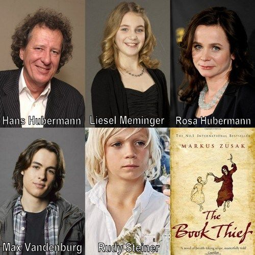 the book thief cast co the book thief cast