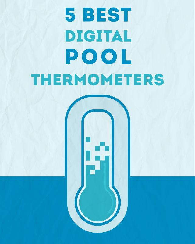 Digital pool thermometers are the best way to tell what the temperature of your swimming pool is. I know it sounds pretty obvious, but not all pool thermometers are the same. There are two different categories of thermometers: digital and standard mercury ones. And you can have a floating or handheld one.