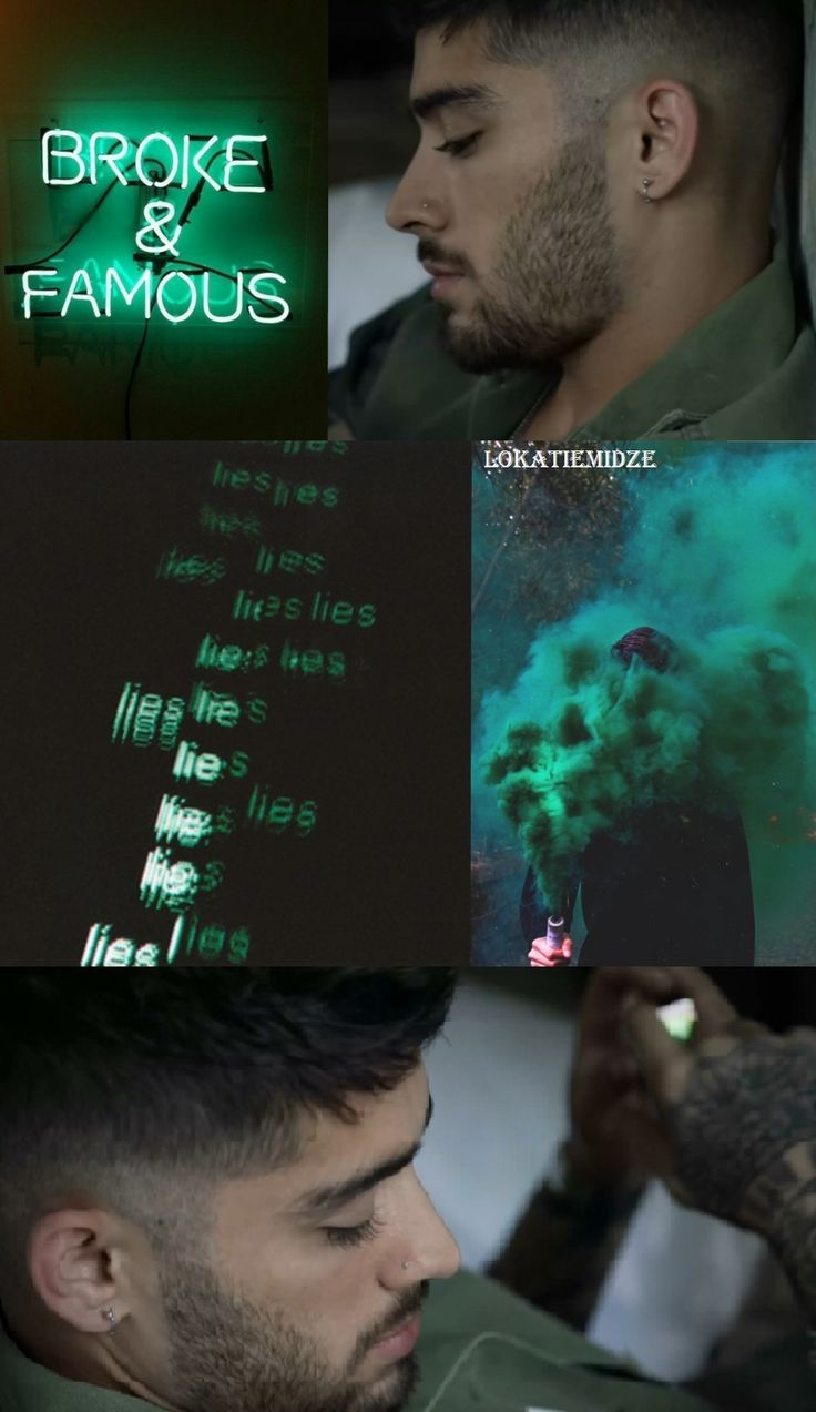#zayn #malik #zaynmalik #lockscreen #wallpaper #green #black #1D