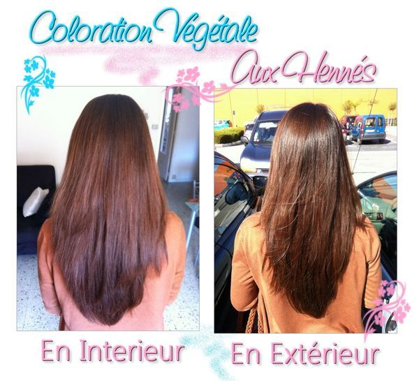 image mes colorations v g tales aux henn s by reo cosmetiques - Coloration Et Henn