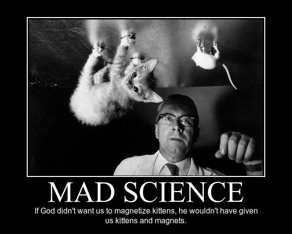 Image result for mad scientist meme