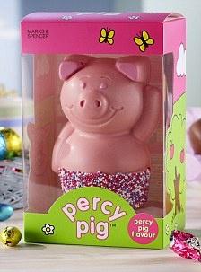 Percy pig easter egg!  Aaaarrrggghhhh no way!!!