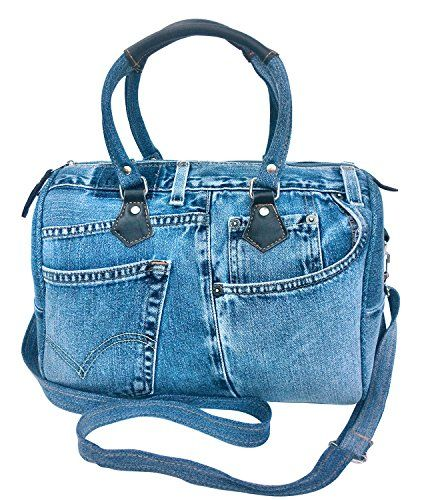 BDJ Unique Blue Denim Doctor Style Top Handle Shoulder Handbag BL070 Bijoux De Ja http://www.amazon.com/dp/B00JVPAKBE/ref=cm_sw_r_pi_dp_y3n-vb1DC0M4C
