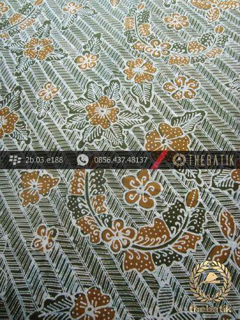 Kain Batik Tulis Yogyakarta Motif Bantulan Besek Hijau   #Indonesia Traditional #Batik Tulis #Design. Hand-dyed and HandDrawn Process http://thebatik.co.id/kain-batik-bahan/batik-tulis/