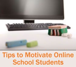 """""""5 Elements of Student Motivation in Virtual School"""" from Connections Academy online school. Pin to Prepare—Create a Pinboard of """"Cool Tools for Online School"""" for a Chance to Win!  #onlinelearning #motivation #virtualschool"""