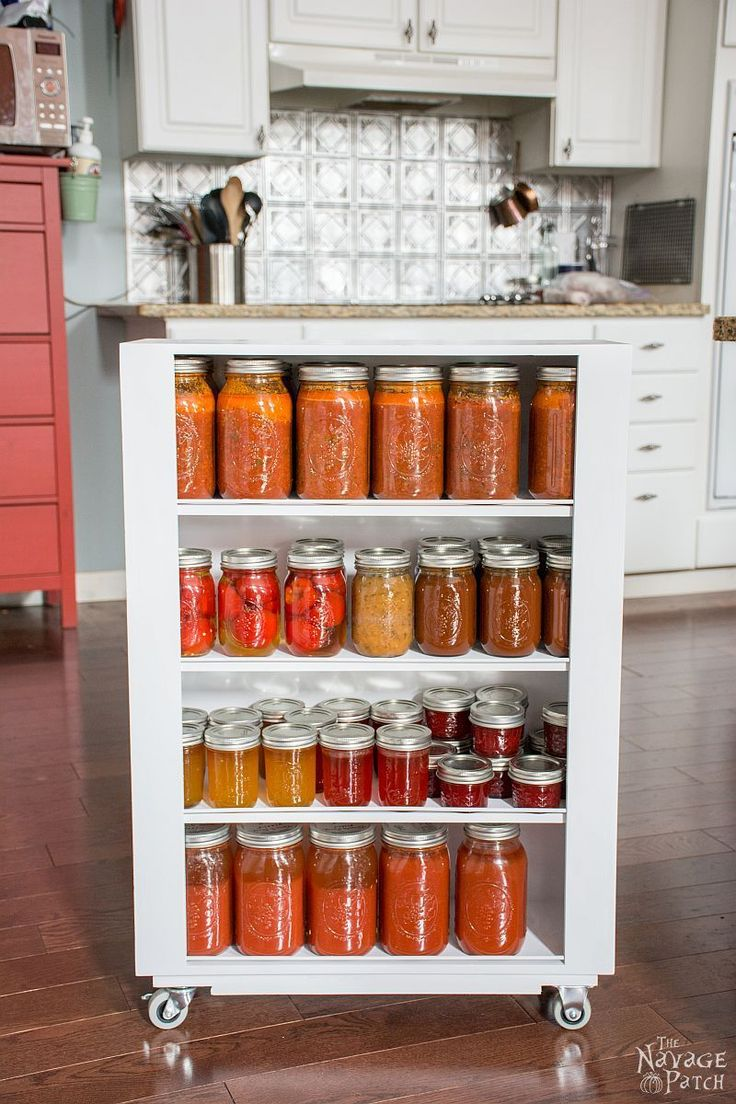334 Best Images About Pantry And Kitchen Organization On Pinterest Open Pantry Built In Pantry And Spice Racks