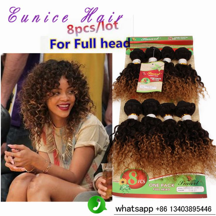 Ombre 1b 27 Hair Extensions afro kinky curly human hair