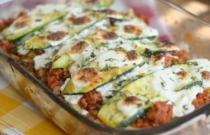 Hearty Zucchini Lasagna #TrendingintheKitchen AD