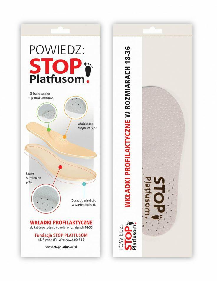 Tak oto prezentują się nasze wkładki profilaktyczne, a które kupując w naszym sklepie wspieracie FUNDACJĘ STOP PLATFUSOM! :-)