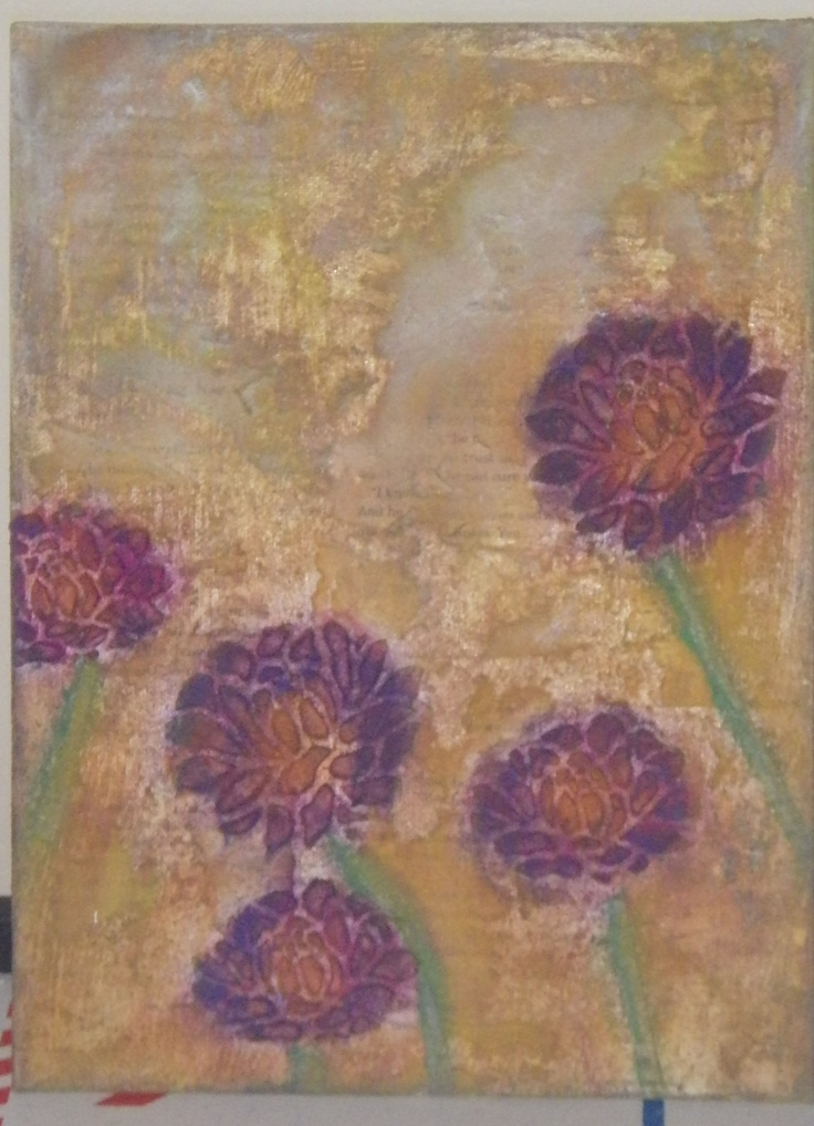 Pan Pastel Mixed Media 2 Donna Downey done by Julie Hamel
