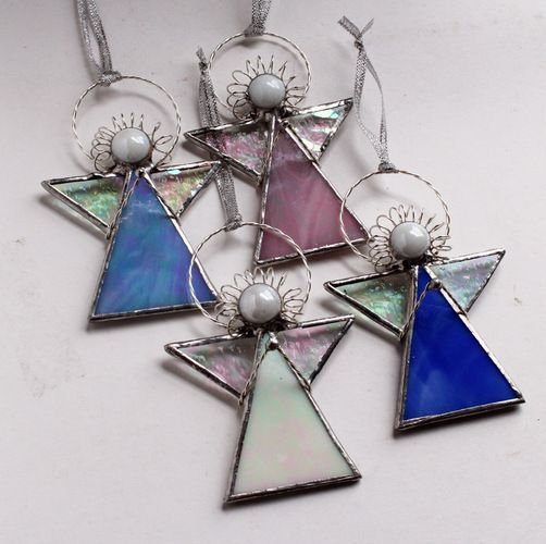 Angels In Our Midst - Stained Glass  - Your Color . Starting at $9 on Tophatter.com!