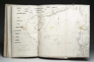 OUTSTANDING BOUND VOLUME OF NAUTICAL CHARTS.