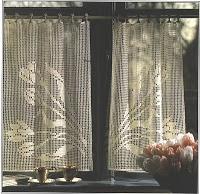 Butterfly: Filet Crochet Curtains