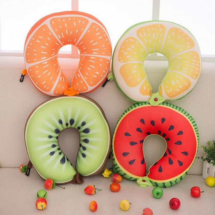 Fruit U Shaped Pillow