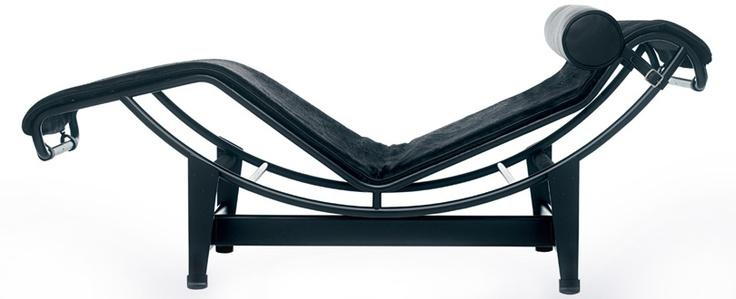 Le Corbusier, LC4 Chaise Longue (1929)  / Design: Le Corbusier, Charlotte Perriand, Edouard Jeanneret