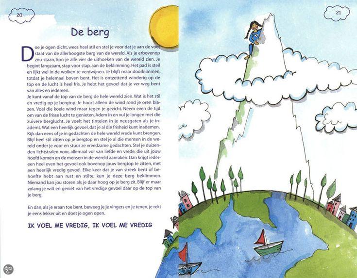 meditaties voor kinderen. tijdens de trainingen en begeleidingen gebruiken wij vaak het boek 'de wensster'